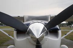 An aeroplane Stock Photos