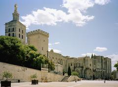 Palais des Papes, Avignon, France Stock Photos