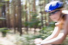 A cyclist Stock Photos