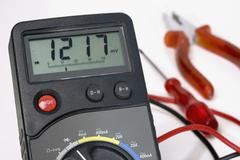 Stock Photo of A voltammeter