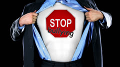 Stop Bullying Shirt - stock footage