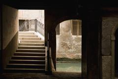 An alley in Venice Stock Photos