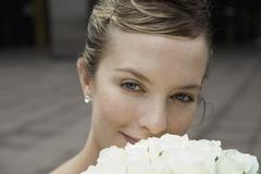 A bride - stock photo