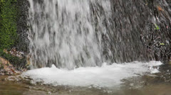 Cerna Valley waterfall Stock Footage