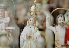 Christian statuettes Stock Photos