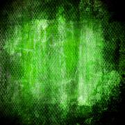abstract green grunge  wall - stock illustration