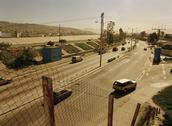 Stock Photo of Tijuana, Mexico, Latin America, Cars driving on a road