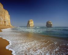 Twelve Apostles Sea Rocks, Australia Stock Photos