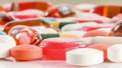 Pills Stock Footage