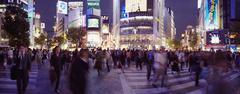 Shibuya Crossing, Tokio, Japani Kuvituskuvat