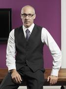 Portrait of a tailor Stock Photos