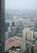 Cityscape, Shanghai, China Stock Photos
