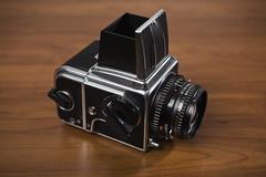 A medium format camera Stock Photos