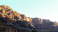 Grand Canyon at sunset, time lapse Stock Footage