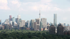 Toronto Skyline Stock Footage