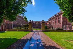 Cambridge university -st catherine's college Stock Photos