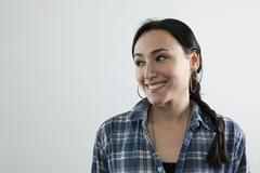 Stock Photo of A happy woman, portrait