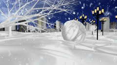 Snowman All Stock Footage
