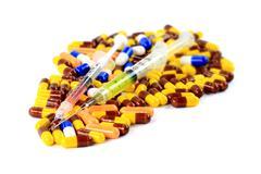 Pharmaceutical remedies Stock Photos