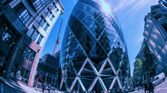 Stock Video Footage of gherkin filter04