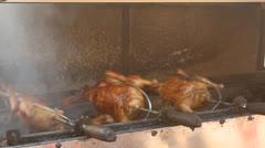 The roast duck Stock Footage