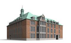 bremen city hall 10 - stock illustration