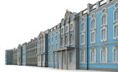 Catherine palace 5 Stock Illustration