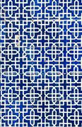 tiled background, oriental ornaments from uzbekistan.tiled backg - stock photo
