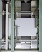 Detail of a printing machine Stock Photos