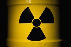 A Radioactive Barrel Stock Photos