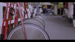HARNESS RACING - WHEELS # 2 Stock Footage