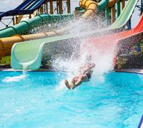 Aquapark Stock Photos