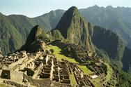 Stock Photo of The ruins of Machu Picchu, Peru, Latin America