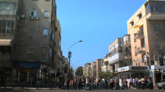 Tel Aviv Street View Day2 - stock footage