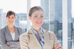 Stock Photo of Happy businesswomen