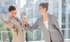 Stock Photo of Businesswomen having a dispute