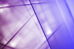 Abstract intersecting lines on a glass surface Stock Photos