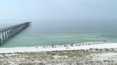 Florida Beach Fun Stock Footage