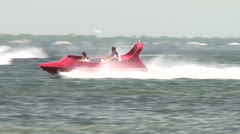 Beach Watercraft Fun Stock Footage