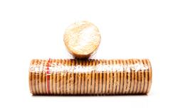 Packet of biscuits Stock Photos