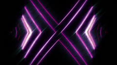 Animated abstract, futuristic lines digital background, HD 1080p, loop. Stock Footage