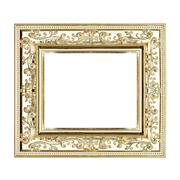 gilt frame - stock photo
