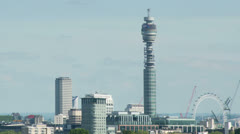 London skyline england Stock Footage