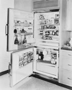 Refrigerator, 1961 Stock Photos