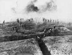 WESTERN FRONT - stock photo