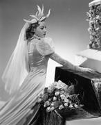 A dazzling bride - stock photo