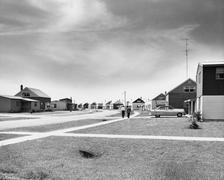 Life in the suburbs Stock Photos