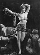 Portrait of exotic sensual woman Stock Photos