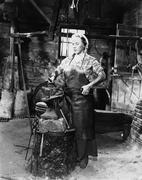 Female blacksmith Stock Photos