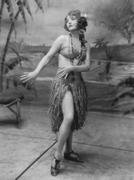 Hula dancer Stock Photos